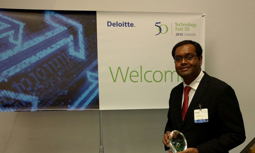 Kumaran Thillainadarajah: 'Atlantic Canada is growing some great companies, and we're one of them.'